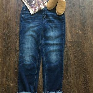 Hi-rise tom girl American Eagle jeans